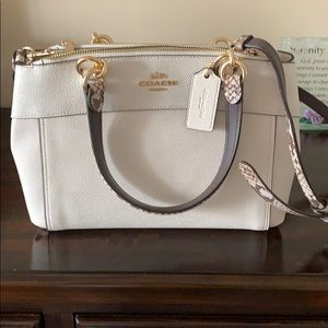 Coach mini brook carryall.